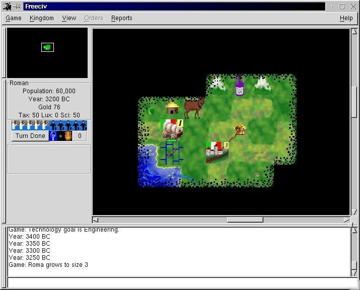 Games : Game Review - FreeCiv