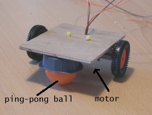 [motor on wooden board 1]