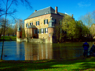 [Photo of Kasteel Erenstein after the additional application of Enhance Colors]