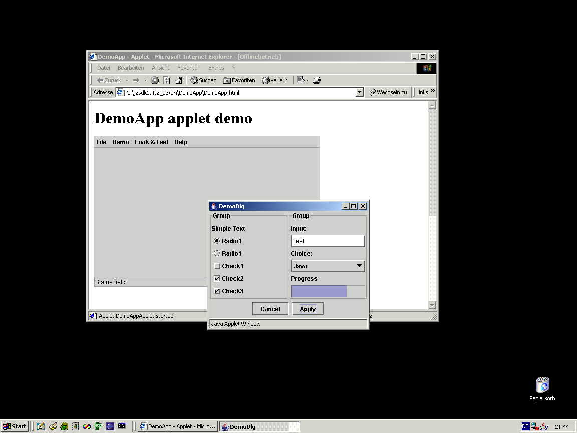 Drawing Lines Java Applet : Java applet draw image